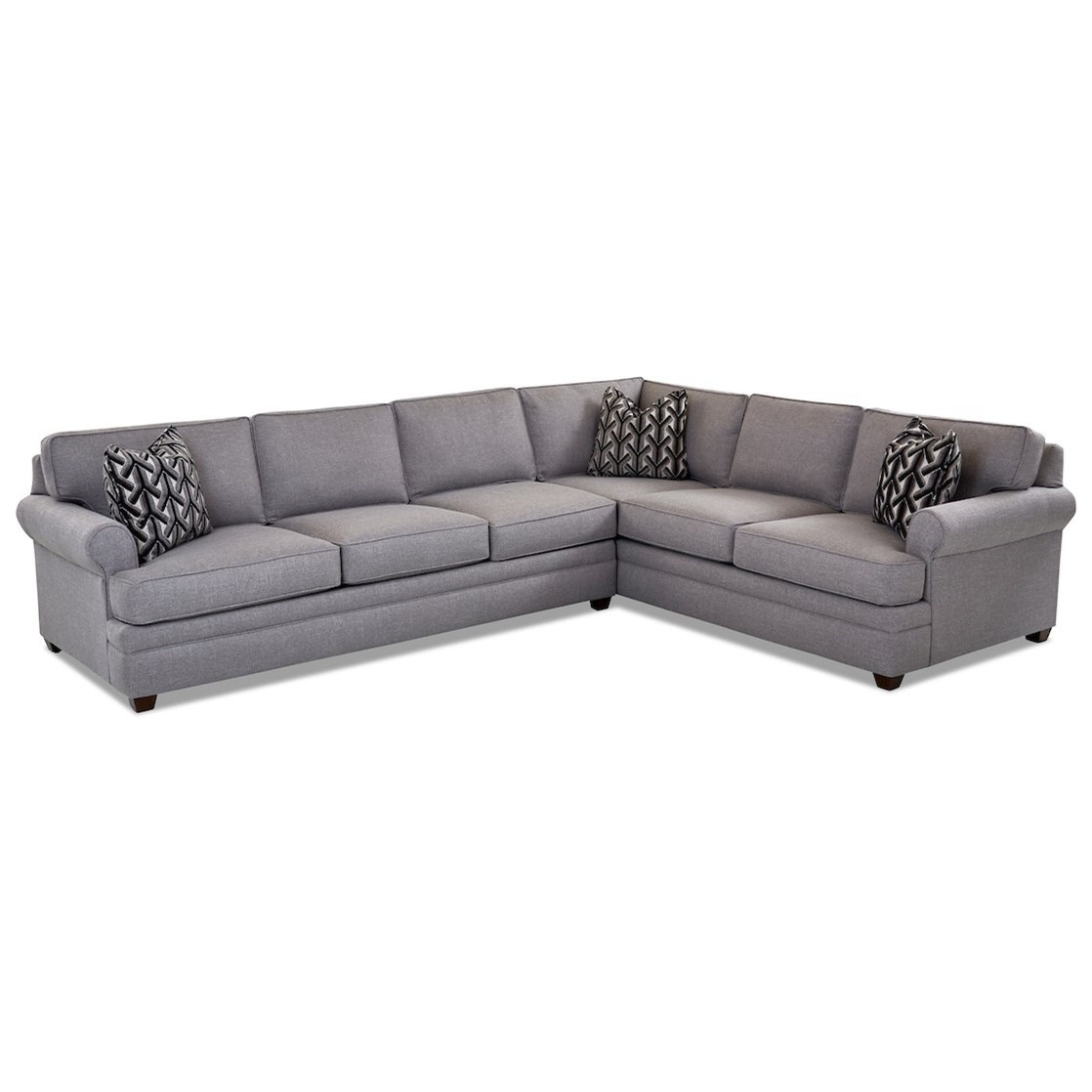 2-Piece Sectional Sofa w/ LAF Sofa