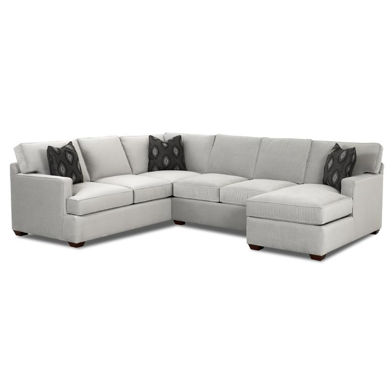 Klaussner Loomis Sectional Sofa Group With Chaise   Item Number:  K29000LCRNS+ALS+RCHASE