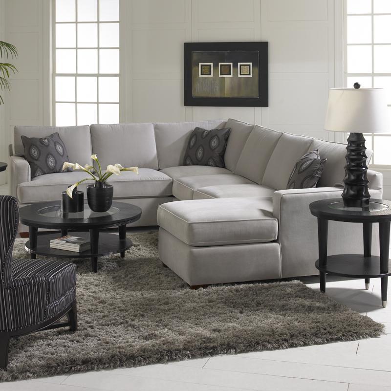 Klaussner loomis sectional sofa group with chaise lounge for Bassett sectional sofa with chaise