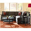 Klaussner Loomis 2 Piece Sectional Sofa Group - Shown in Room Setting