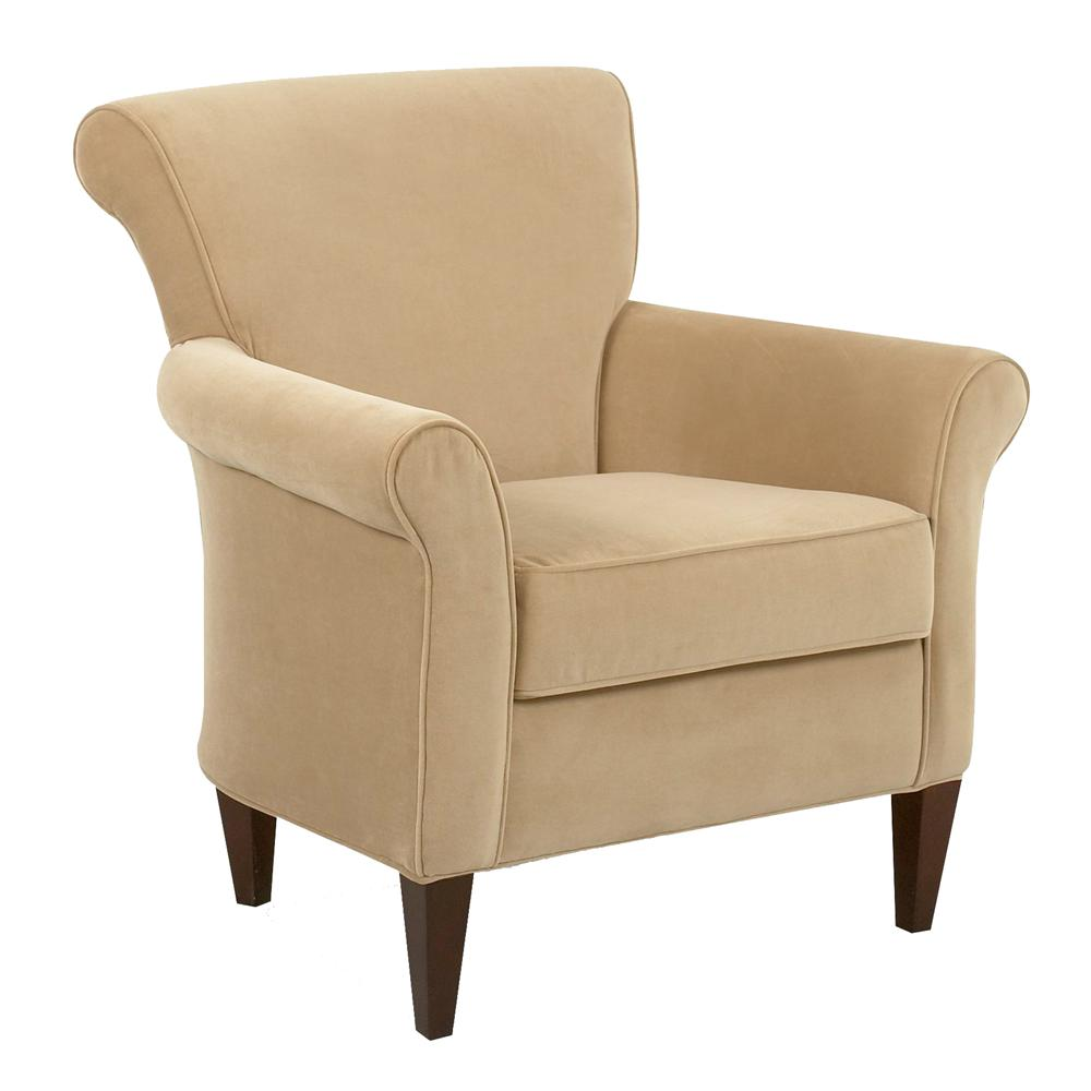 Klaussner Louise Upholstered Chair - Item Number: 1490C
