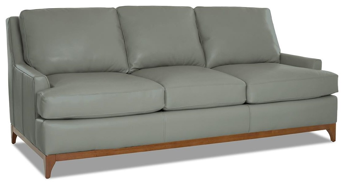 Luca Leather Sofa by Klaussner at Johnny Janosik