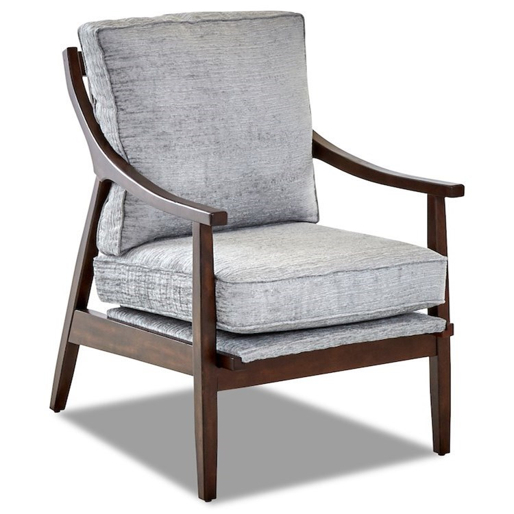 Lynn 934 Occasional Chair by Klaussner at Johnny Janosik