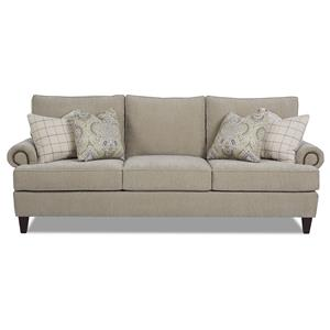 Elliston Place Madison Traditional Stationary Sofa