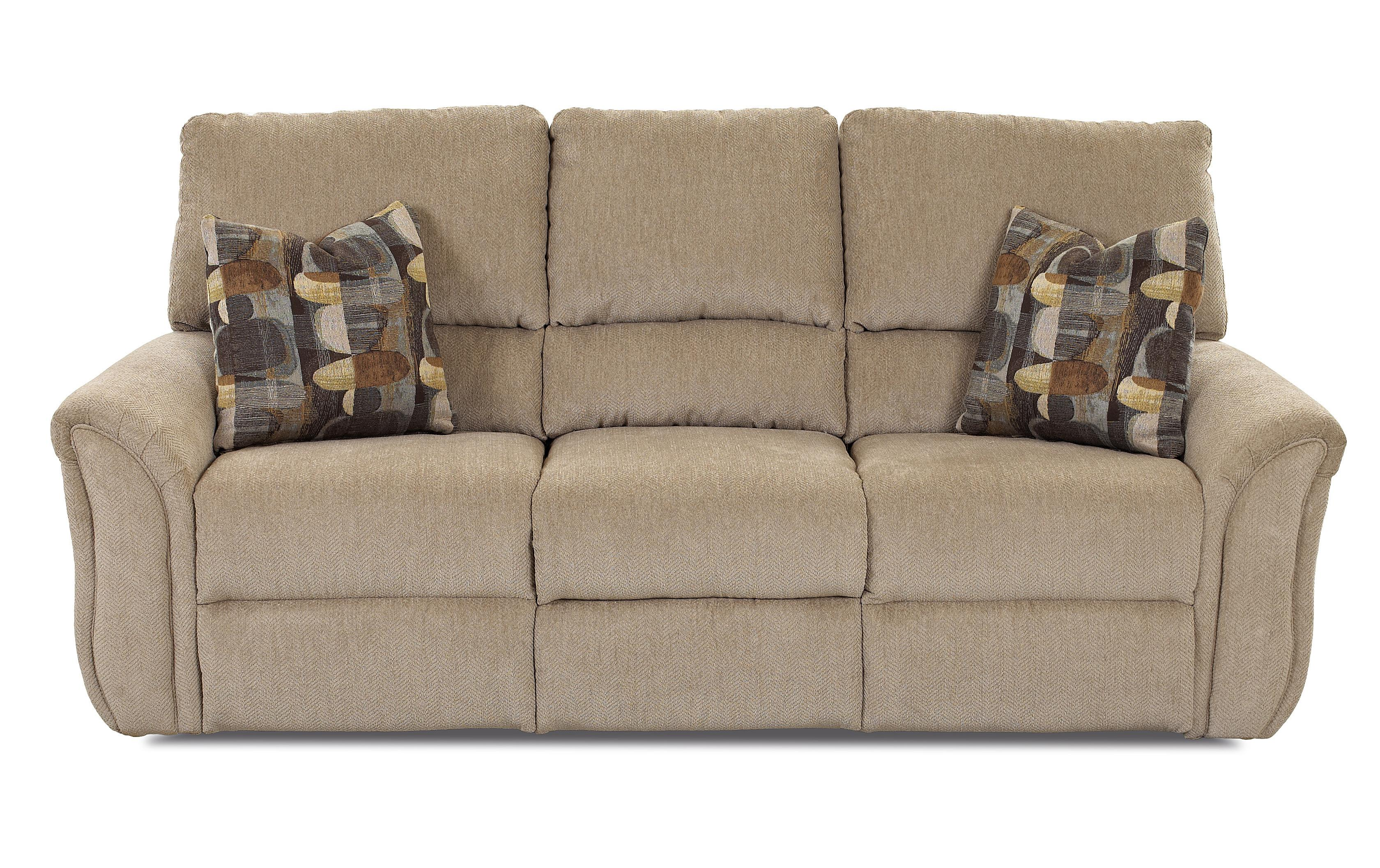 Klaussner Marcus 71903 Casual Power Reclining Sofa - Item Number: 71943P PWRS-JollaParchment