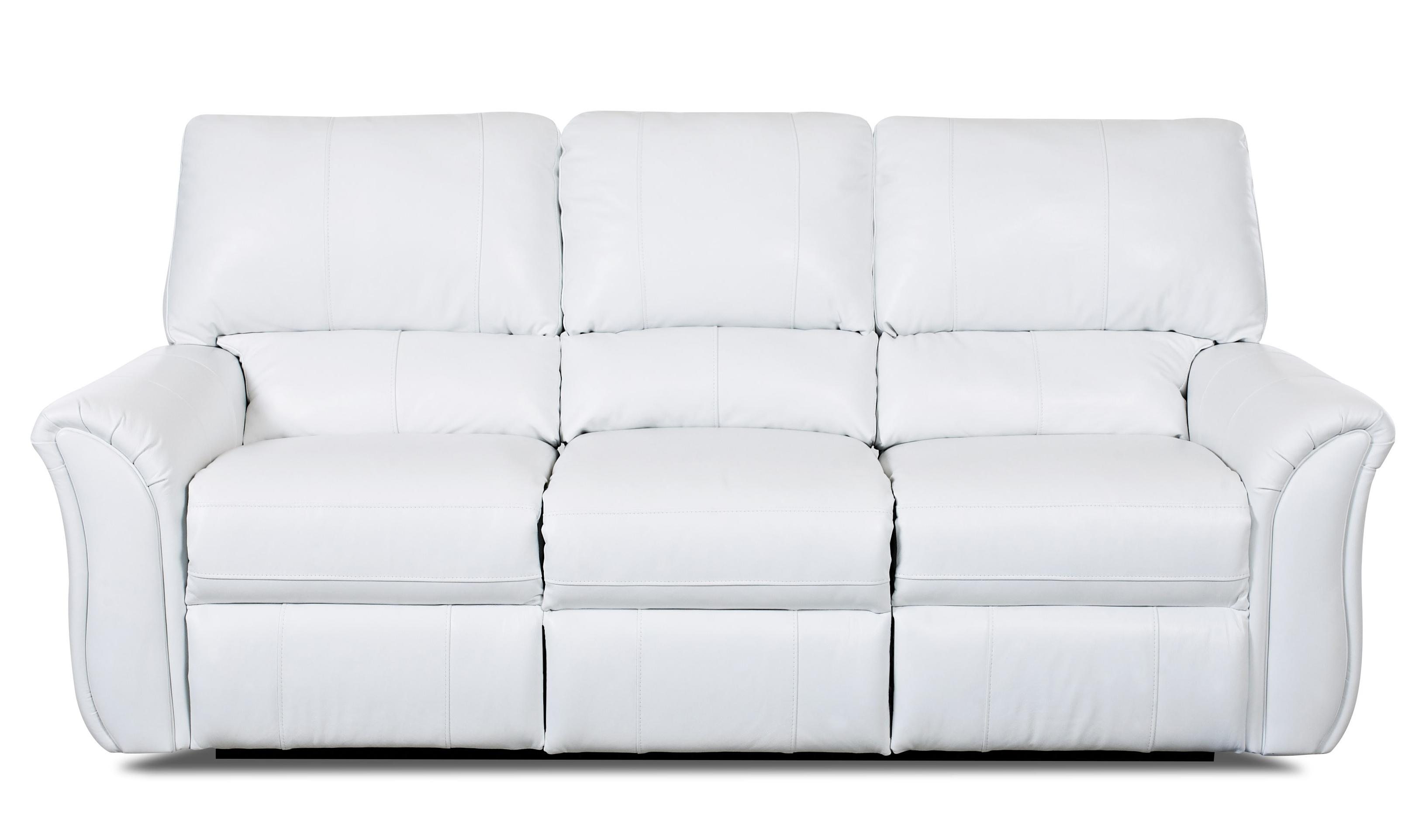 Klaussner Marcus 71903 Casual Power Reclining Sofa - Item Number: LV71903 PWRS-OutsiderWhite