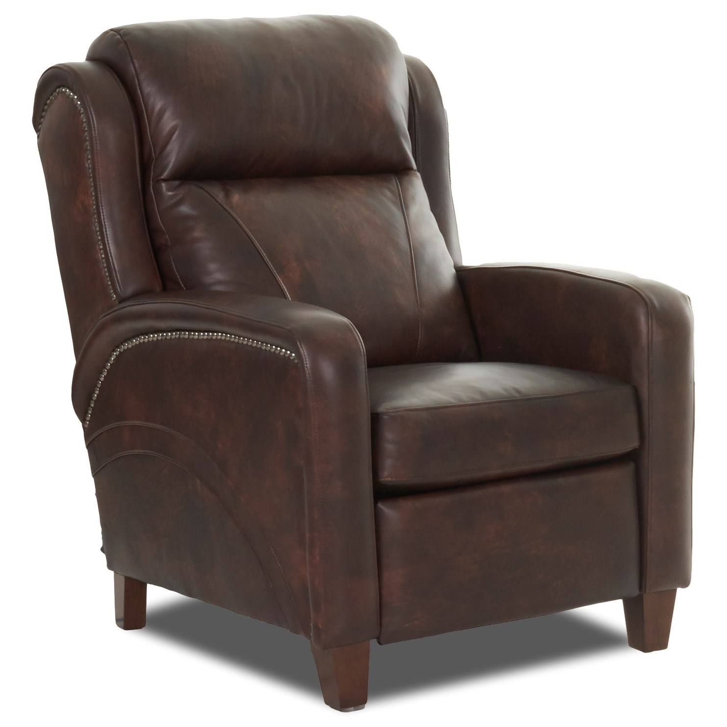 Power Recliner w/ Nailheads and Pwr Headrest