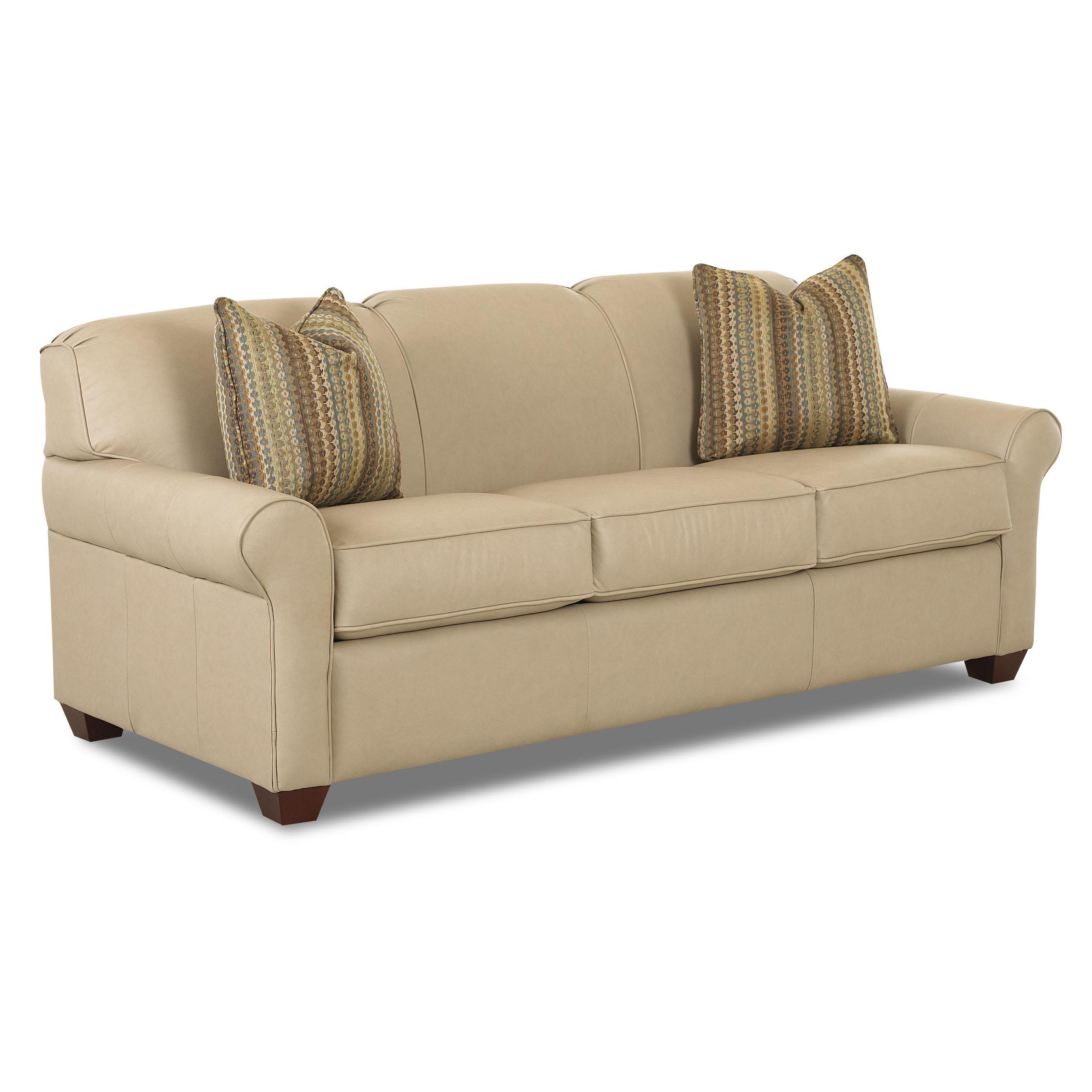 Klaussner Mayhew 97900 Iqsl Innerspring Queen Sleeper Sofa