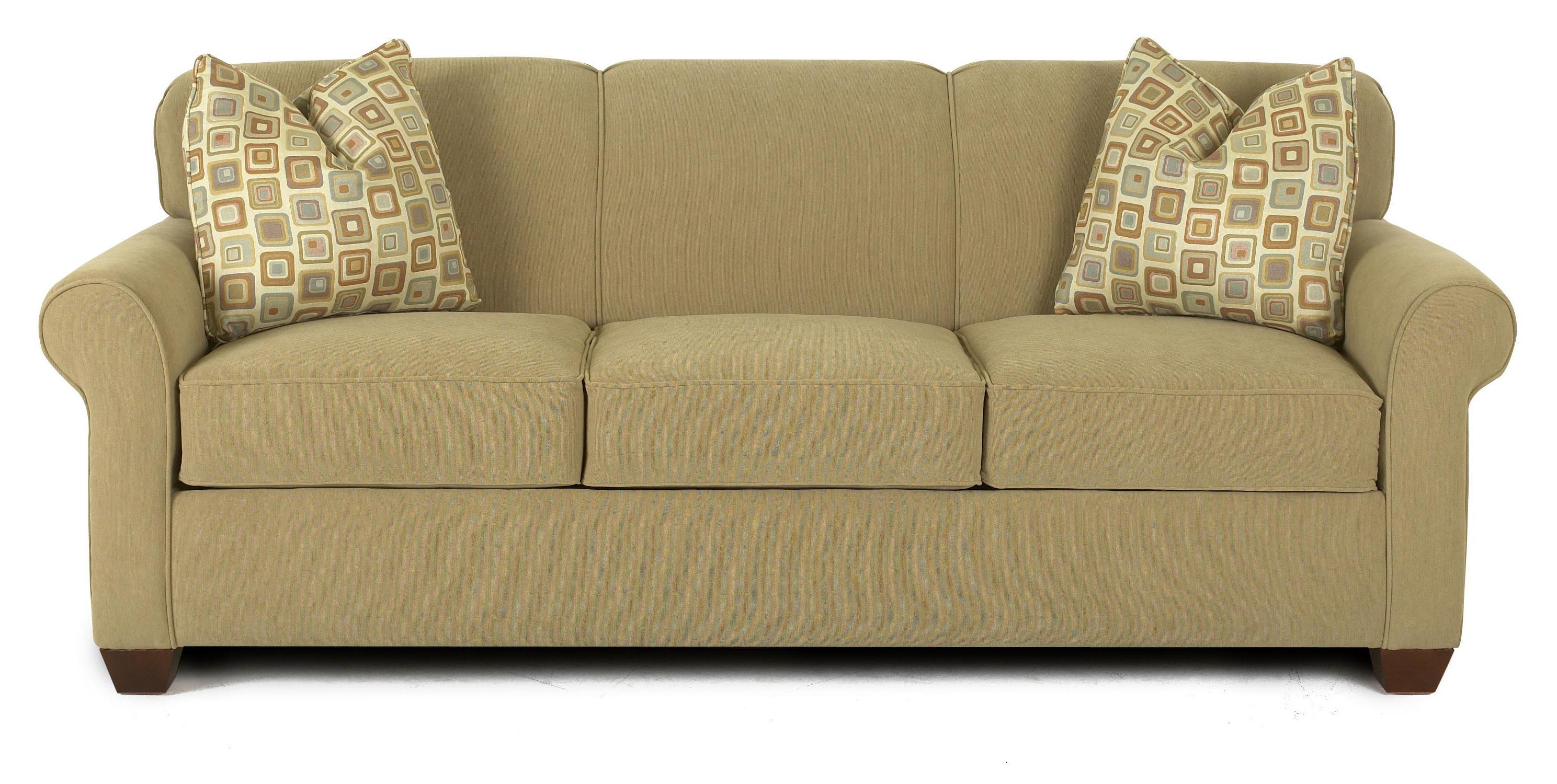 Klaussner Mayhew Enso Memory Foam Queen Sleeper Sofa