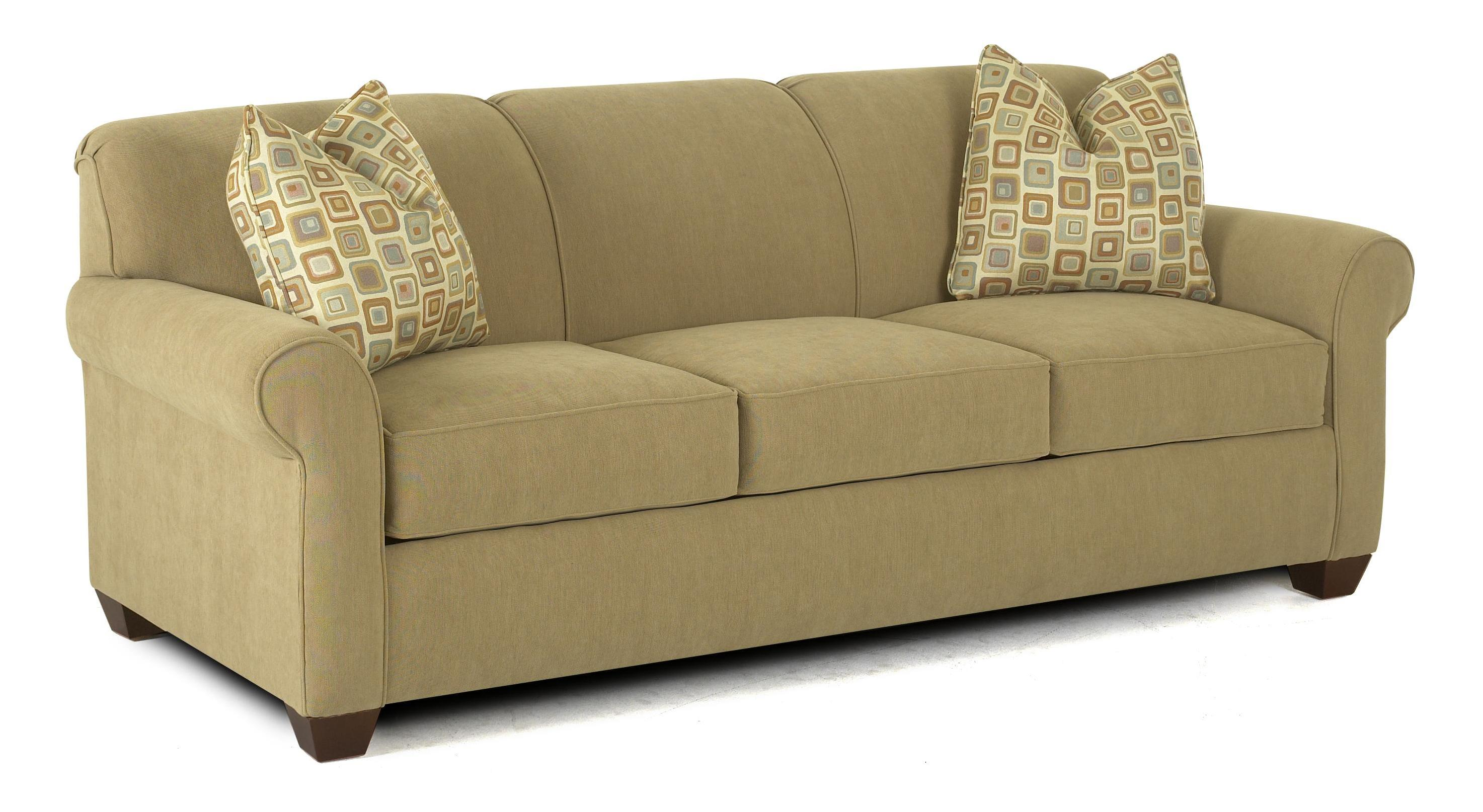 Klaussner Mayhew 97900 Aqsl Air Coil Queen Sleeper Sofa