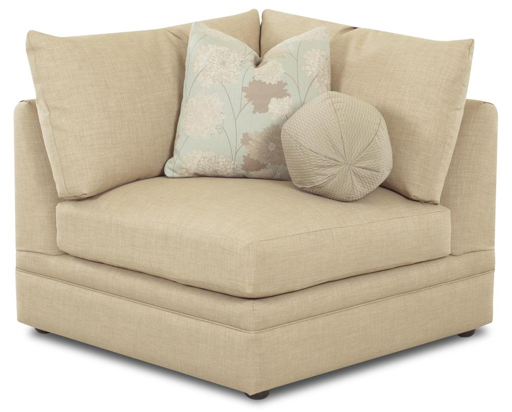 Klaussner Melrose Place Three Piece Sectional With Two