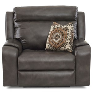 Power Recliner w/ Pwr Head/Lum & Toss Pillow