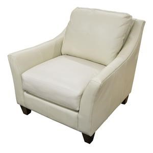 Miriam Leather Match Chair