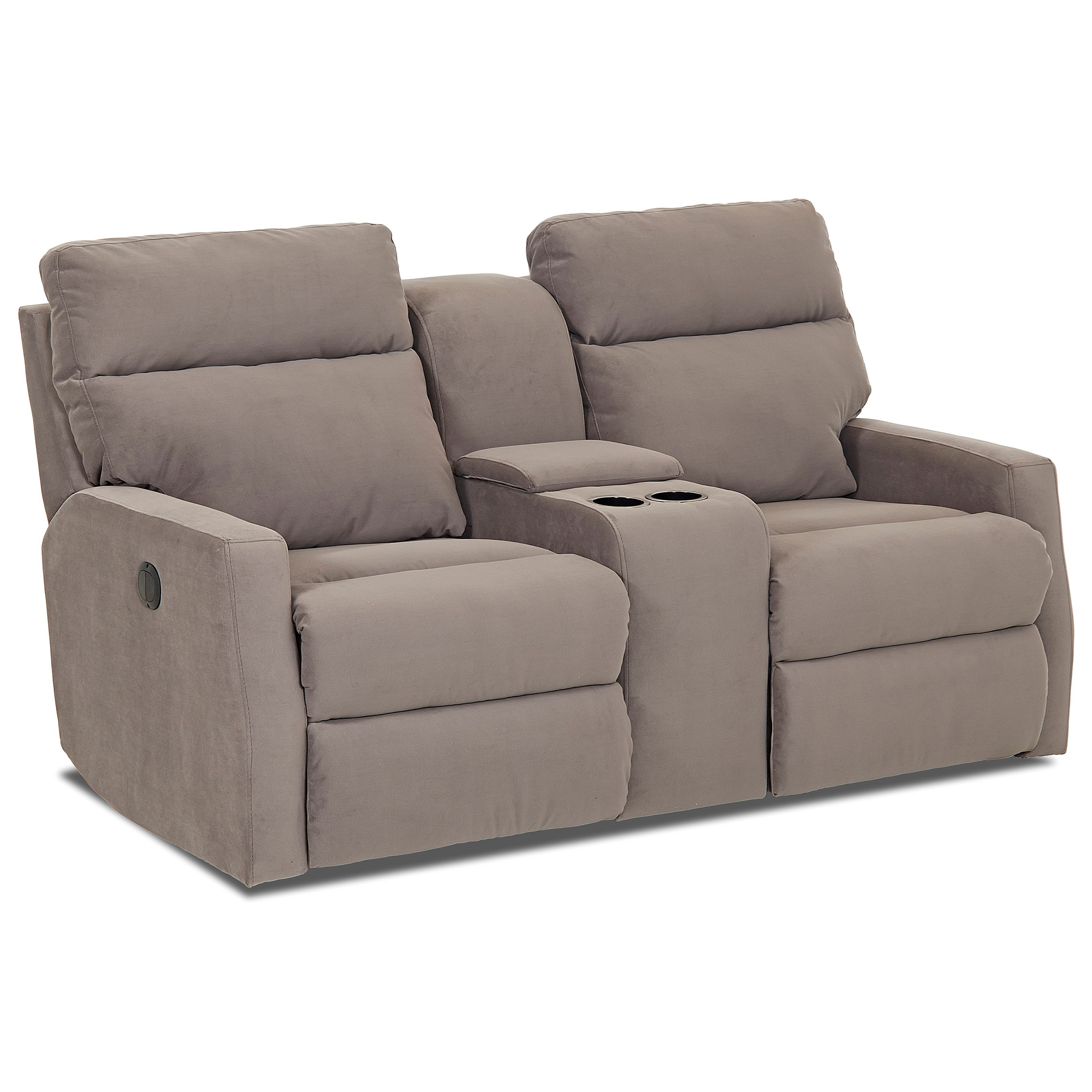 Klaussner Monticello Power Reclining Loveseat With