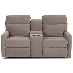 Elliston Place Monticello Console Reclining Loveseat