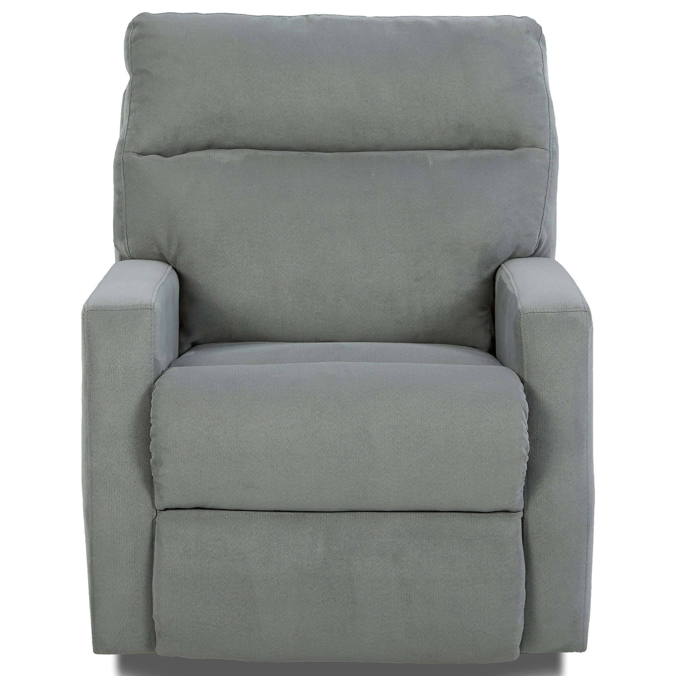 Klaussner Monticello Reclining Chair - Item Number: 41503 RC-GEO SURF