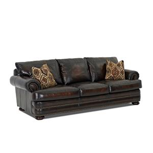 Elliston Place Montezuma Leather Sofa