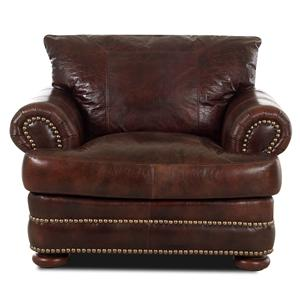 Elliston Place Montezuma Leather Chair