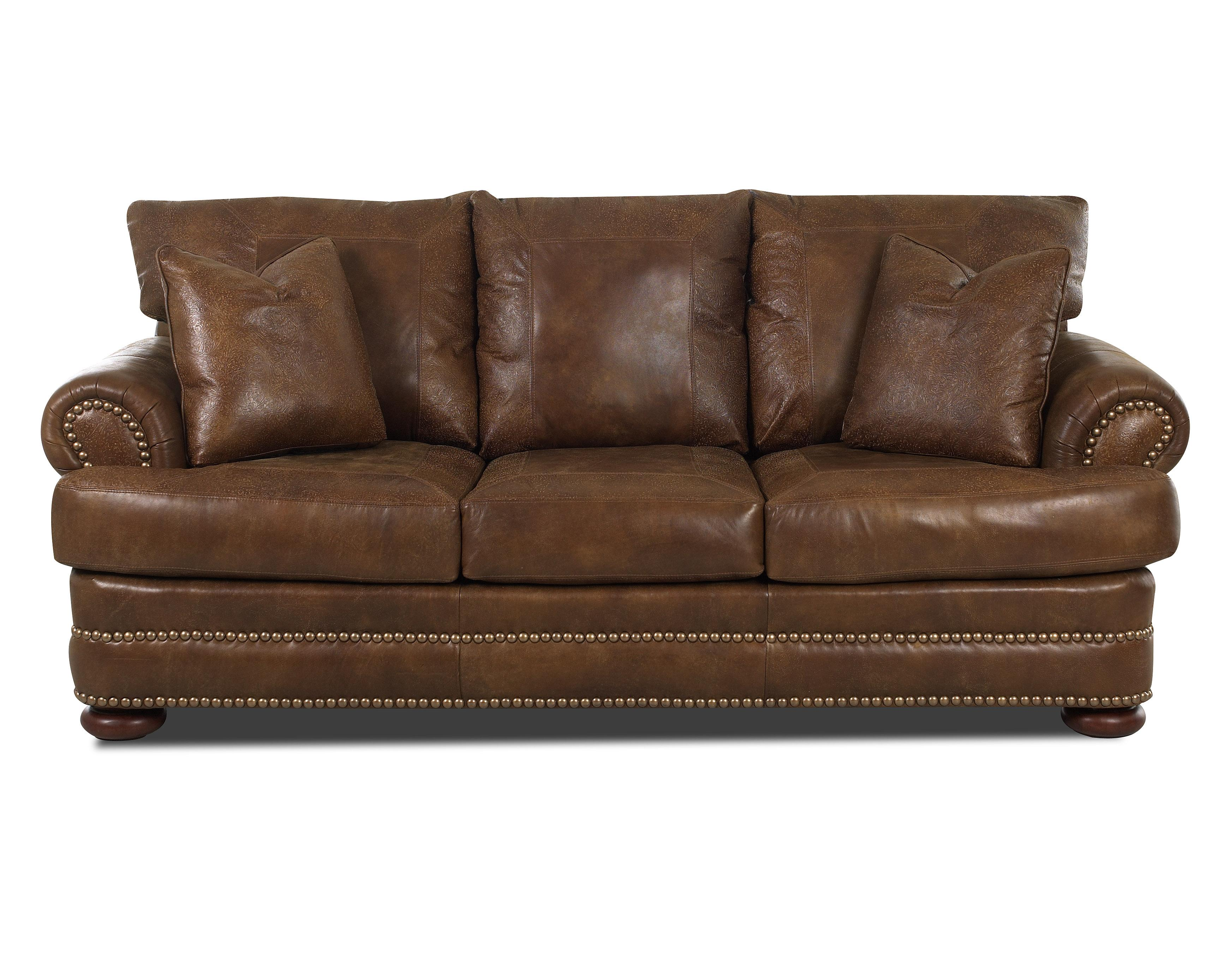 Leather Studio Sofa