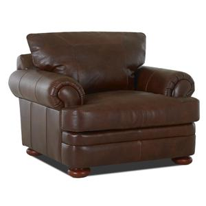 Klaussner Montezuma Leather Chair