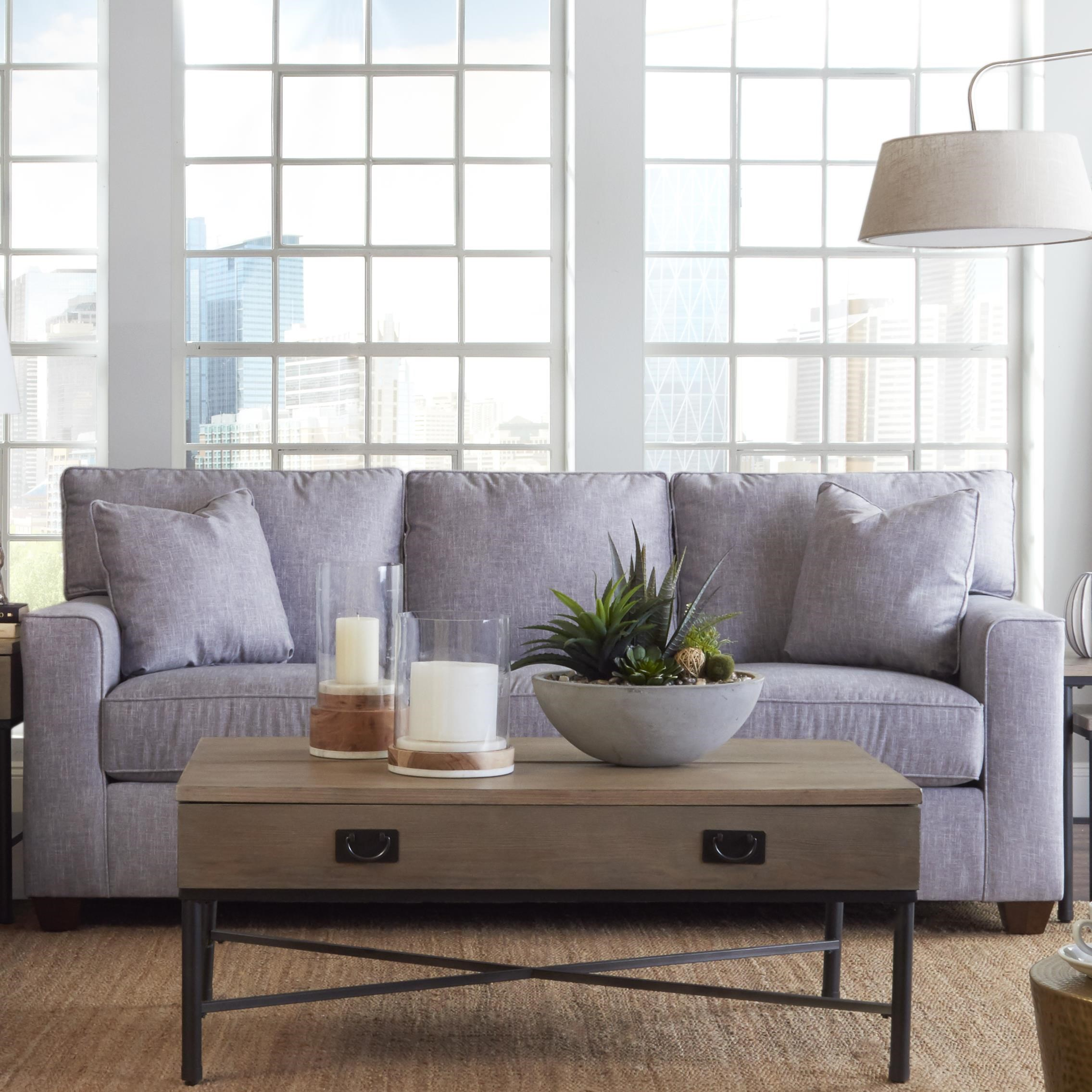 Queen Enso Memory Foam Sleeper Sofa