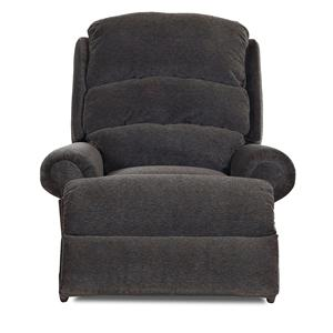 Elliston Place Norman Transitional Swivel Glider Reclining Chair