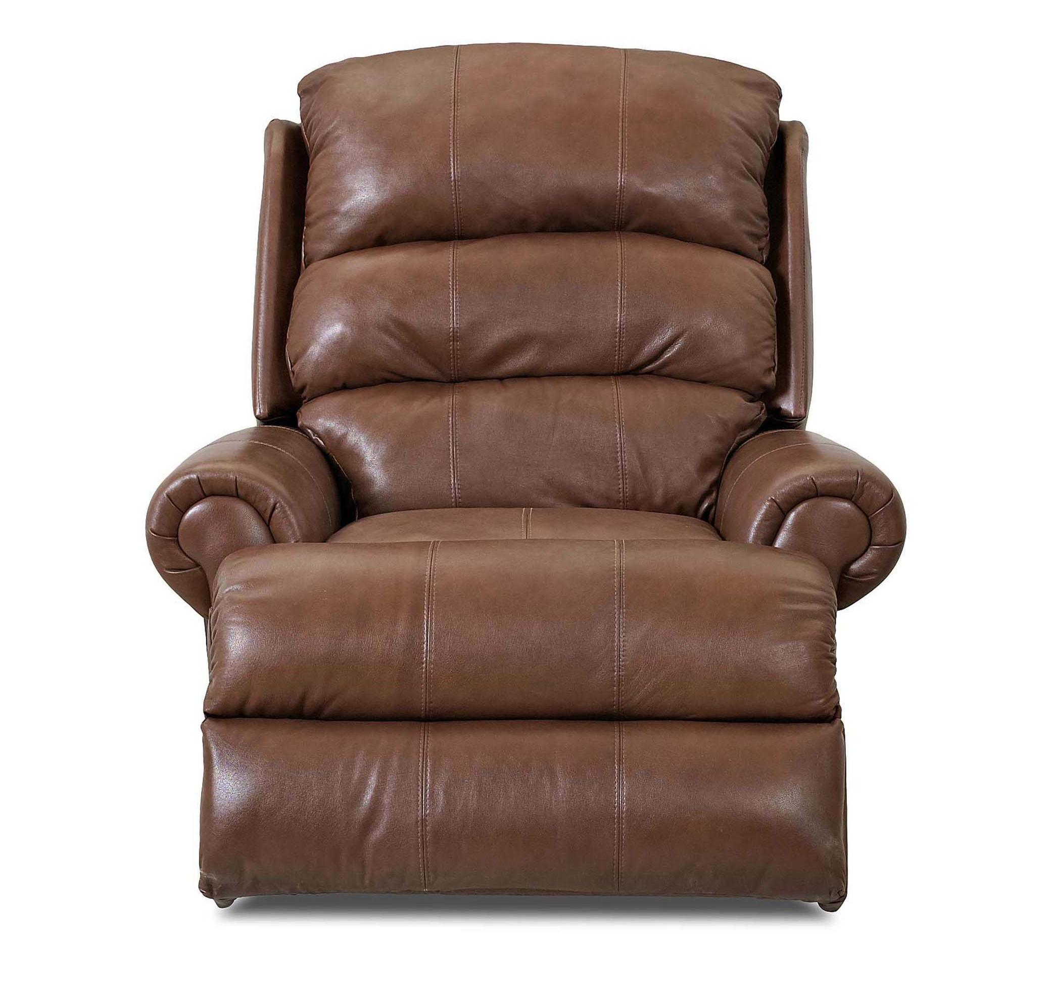 Klaussner Norman Transitional Gliding Reclining Chair - Item Number: LV91003H GLRC