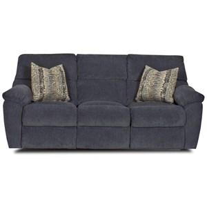 Power 3 Seat Reclining Sofa w/ Pillows