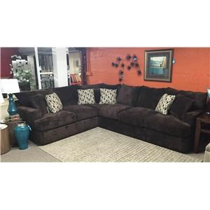 Klaussner Oliver Sectional Sofa