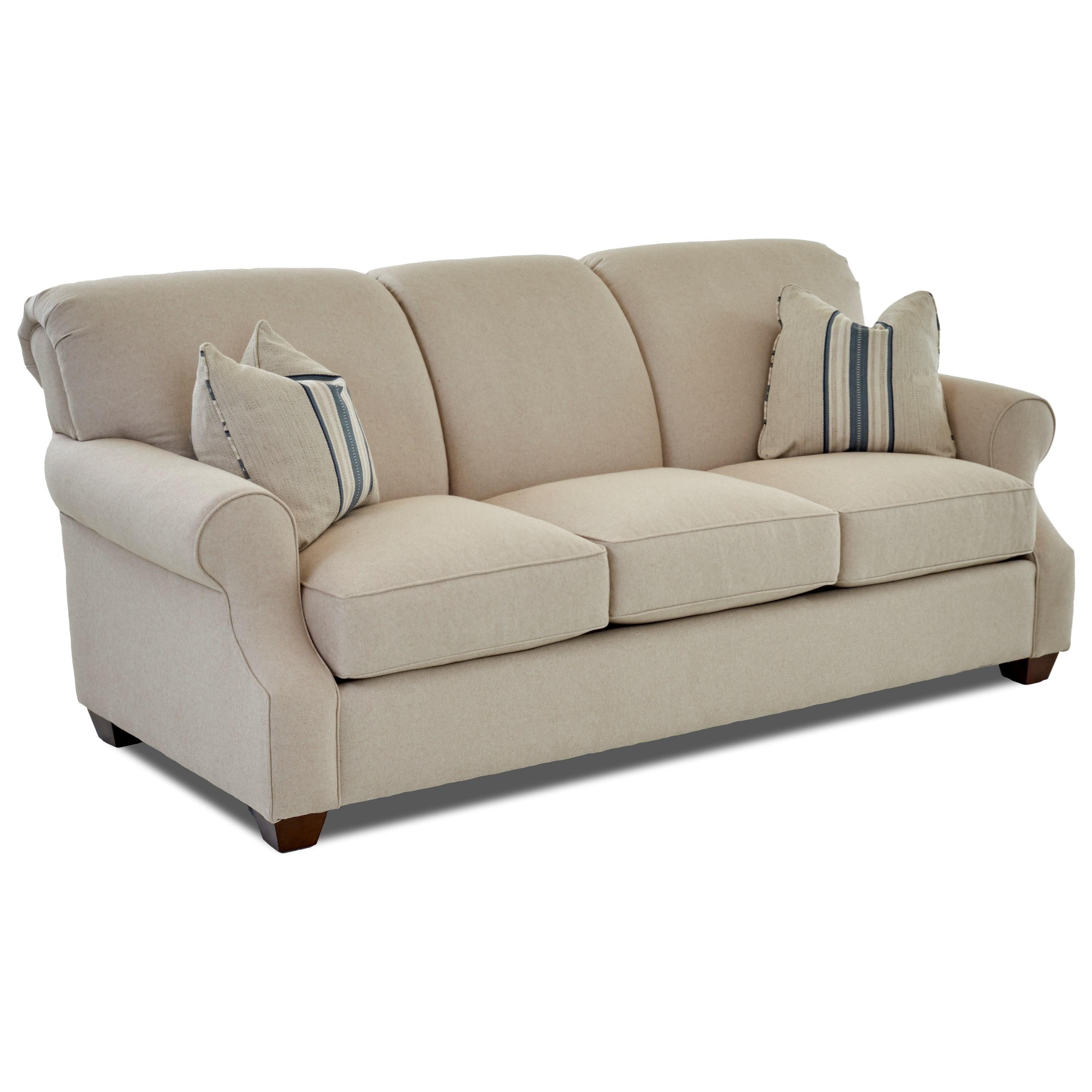 Klaussner Olivia K68500 Dqsl Casual Dreamquest Queen Sofa