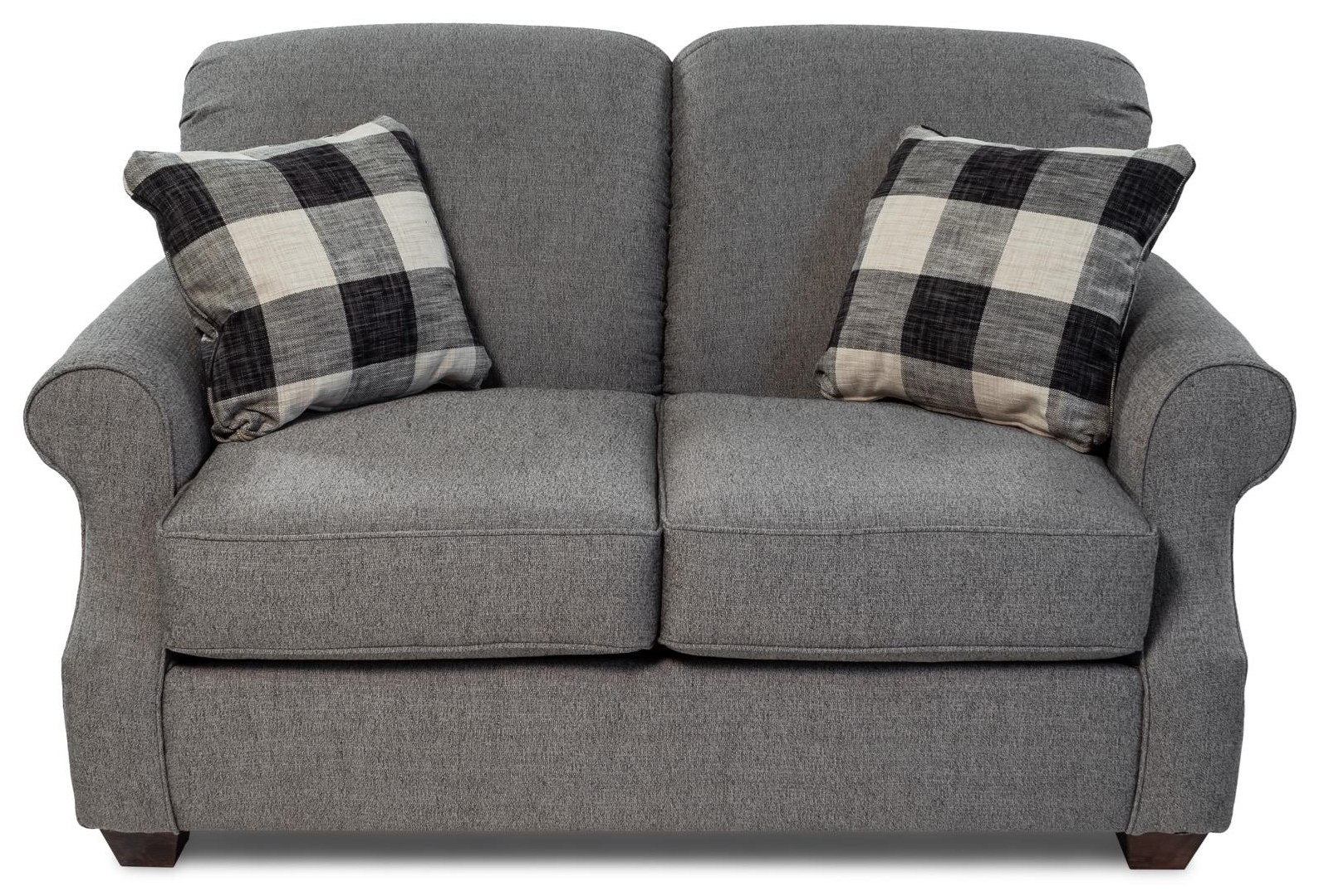 Rolled Arm Loveseat
