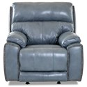 Klaussner Omaha Swivel Rocking Reclining Chair w/ Nails - Item Number: LV71613H SRRC-ALFR POLO