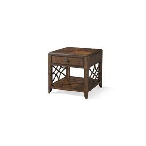 Elliston Place Oneida Oneida Drawer End Table