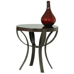 Morris Home Furnishings Sand Bridge End Table