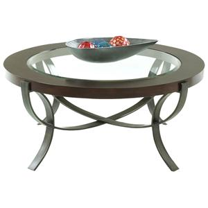 Morris Home Furnishings Onslow Sand Bridge Cocktail Table
