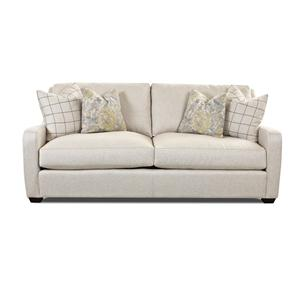 Transitional Stationary Sofa