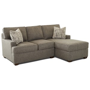 Klaussner Pantego 5 Piece Sectional With Chaise And
