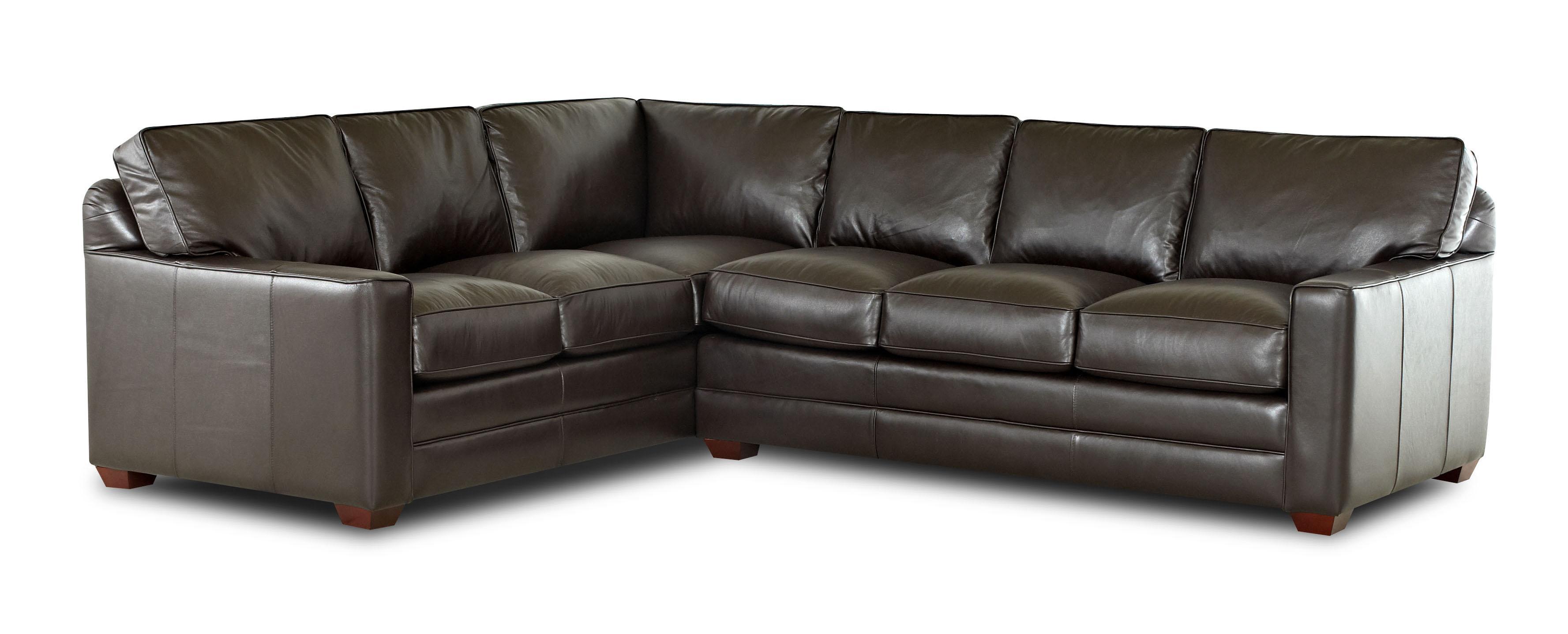 Klaussner Pantego 2 Piece Sectional Sofa With Laf Corner