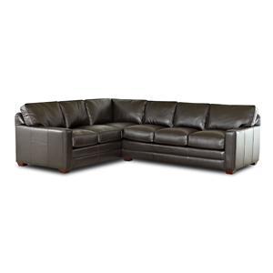 2 Piece Sectional Sofa w/ LAF Corner
