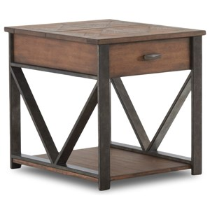 Klaussner International Parkway End Table