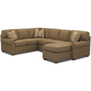 Elliston Place Patterns Sectional Group with Chaise