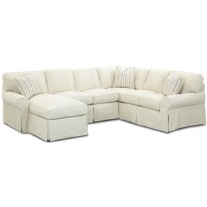 Elliston Place Patterns Sectional Sofa