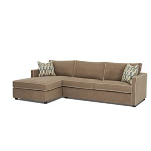 Klaussner Pendry Sectional Sofa with Chaise