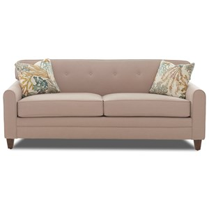 Elliston Place Peyton Mid Century Modern Sleeper Sofa With Enso