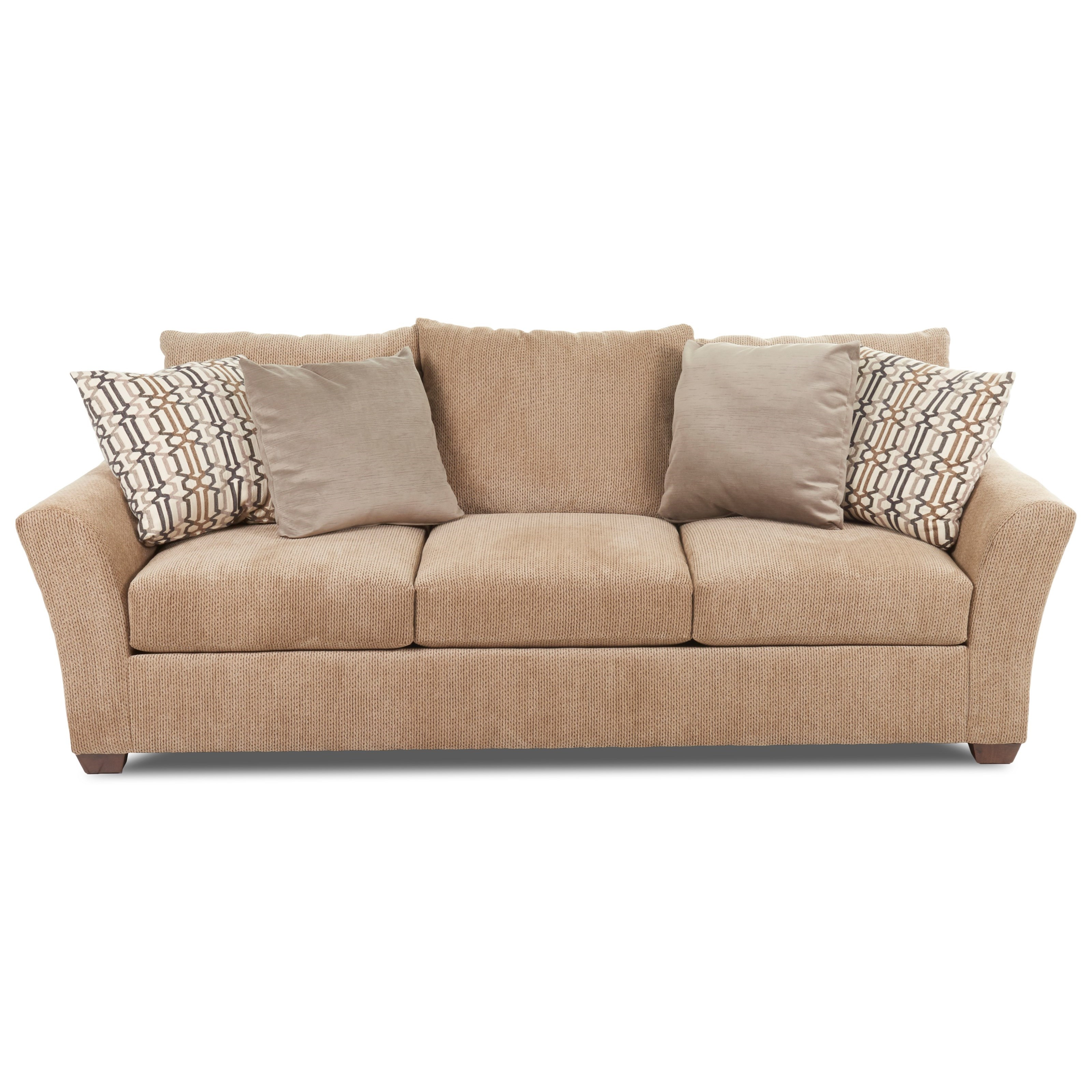 Klaussner Pinecrest Pinecrest Sofa with Flared Arms Wayside