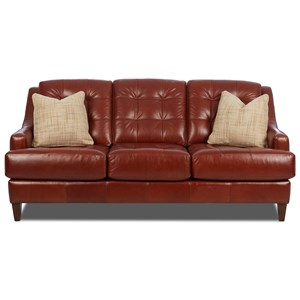 Elliston Place Pinson Sofa w/ Pillows