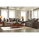 Klaussner Posen Living Room Group - Item Number: 83800 Living Room Group 3