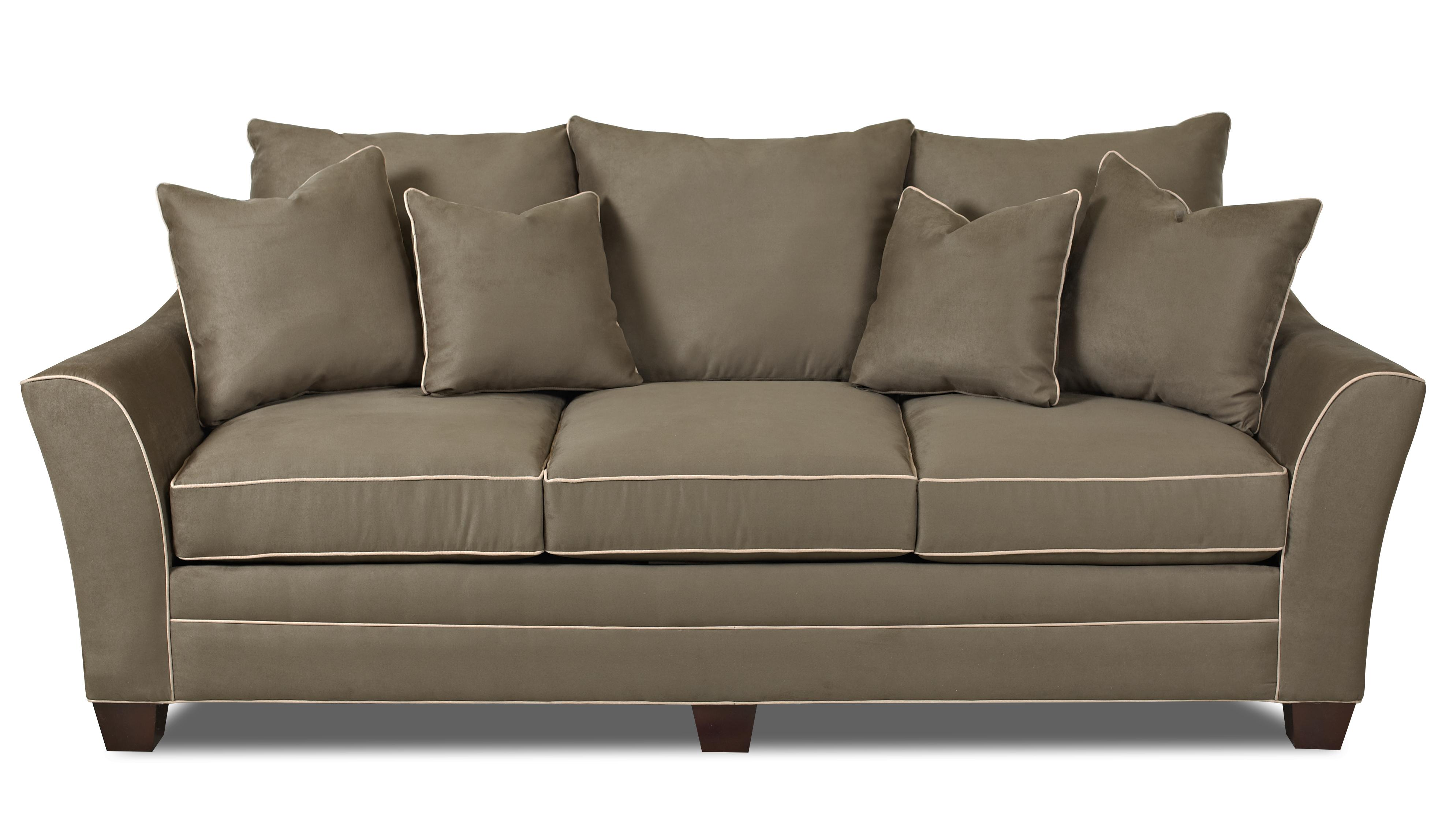 Beautiful Klaussner Posen Stationary Contemporary Sofa   Item Number: 83800 S
