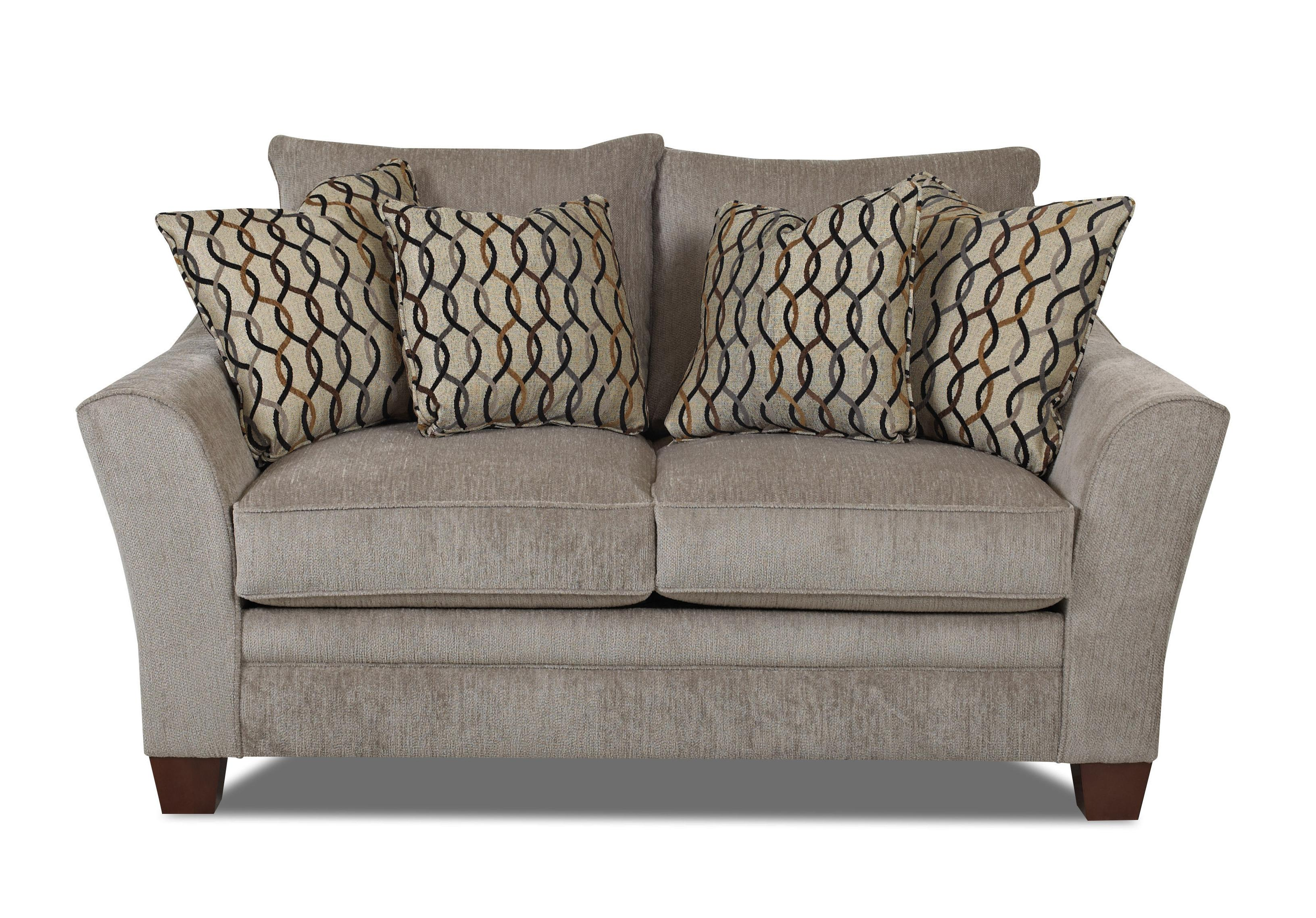 Klaussner Posen Contemporary Loveseat - Item Number: 83844 LS