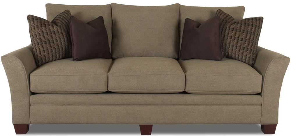 Klaussner Posen Stationary Contemporary Sofa - Item Number: 83844 S